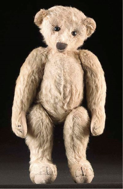 An early American teddy bear