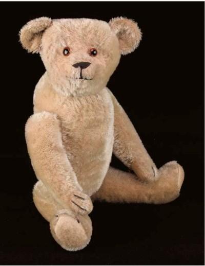 An American-style teddy bear
