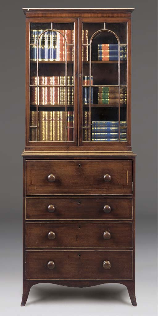 A small late Regency mahogany