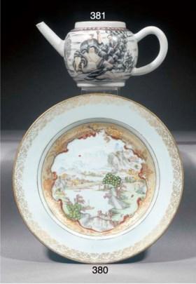 An export teapot  Qianlong