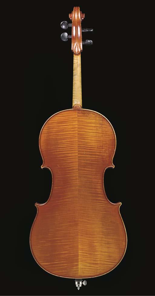 A modern violoncello