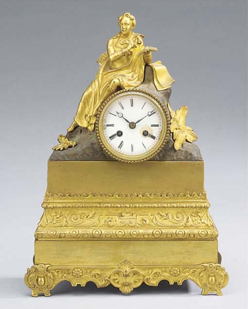 A Louis Philippe ormolu and br