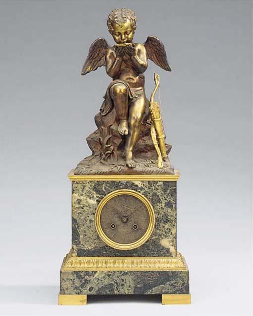 A Charles X bronze, ormolu and