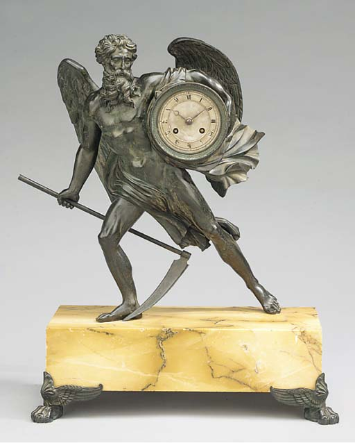 A Charles X  bronze and siena
