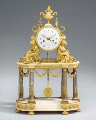 A Louis XVI ormolu-mounted gre