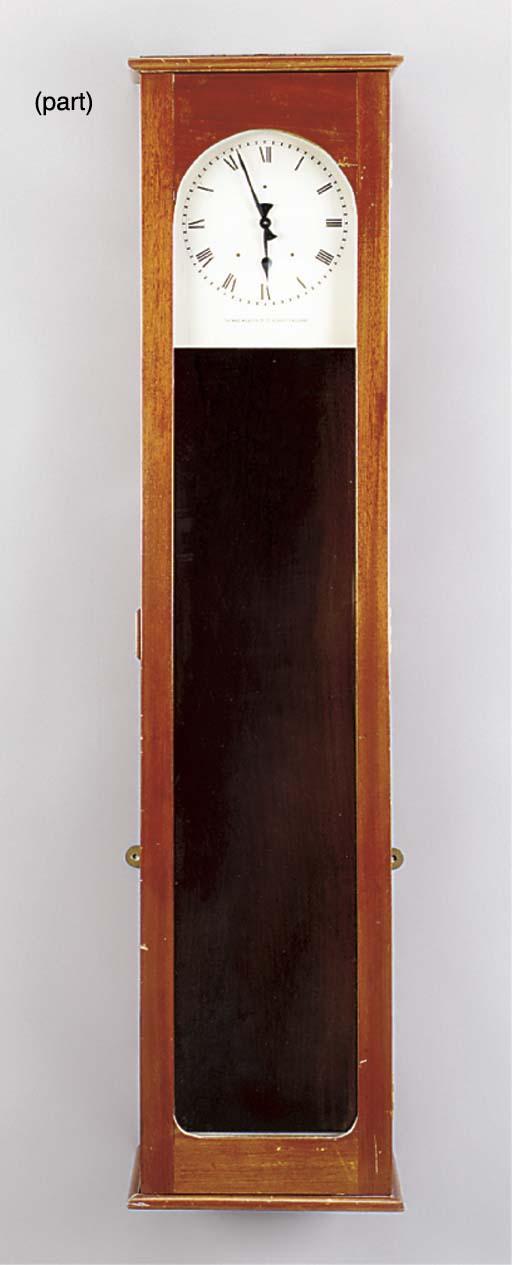 An English mahogany electric m