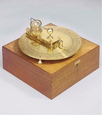 A modern brass orrery