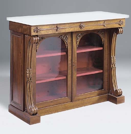 A Scottish Victorian mahogany