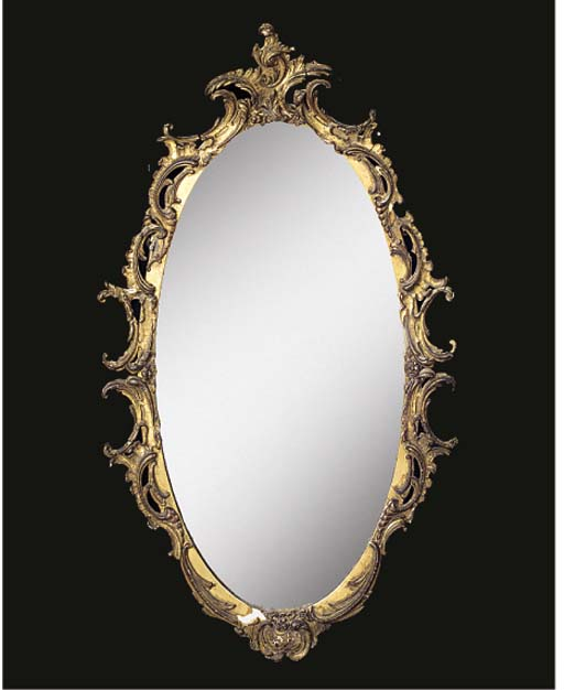 TWO GILTWOOD MIRRORS