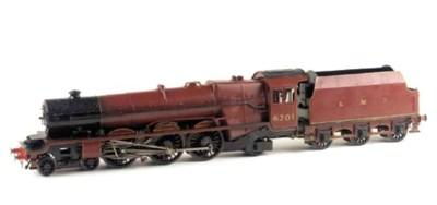 LMS 4-6-2 No. 6201 Princess El