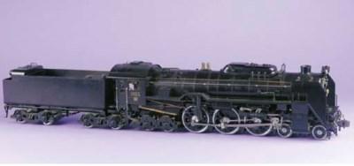 JNR Class C62 4-6-4 No. C623,
