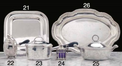 A French Silver Entrée Dish an