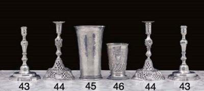 An Dutch Silver Beaker