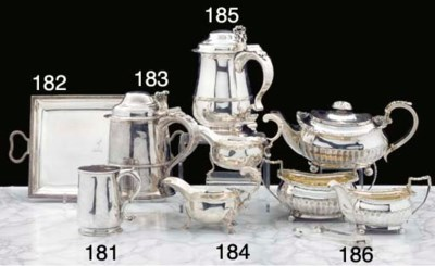 A Three-Piece George III Silve