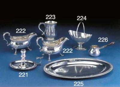 A George II Silver Saucepan