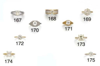 An 18ct. white and yellow gold