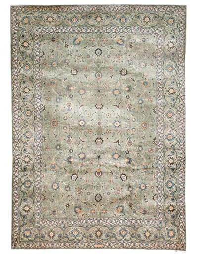 A fine Abdulahi Kashan carpet,