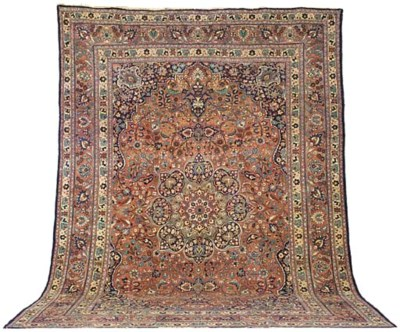 A fine Bijar carpet, West Pers