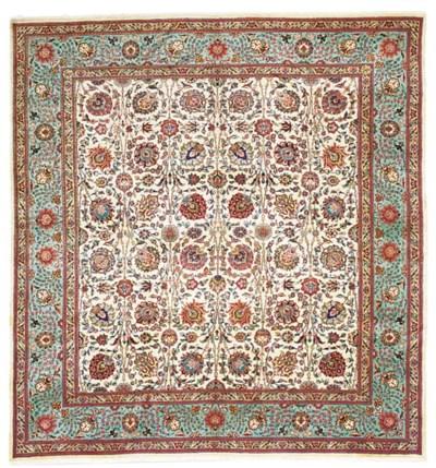 A fine Ghaffari Tabriz carpet,