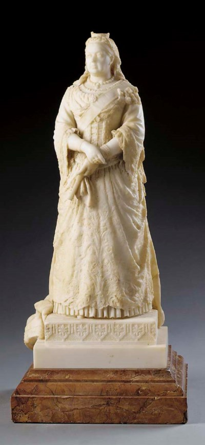 An English sculpted marble ful
