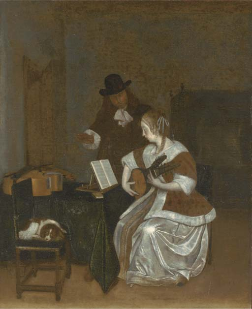 Follower of Gerard ter Borch