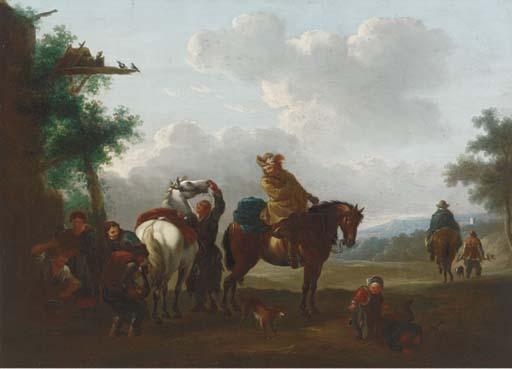 Manner of Pieter Wouwerman