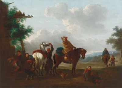 Manner of Pieter Wouwerman