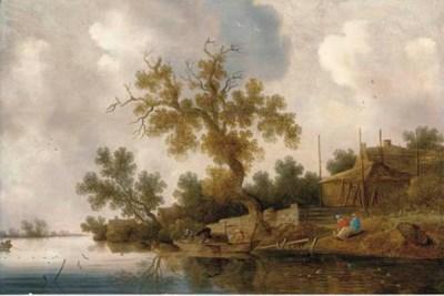 Follower of Salomon van Ruysda