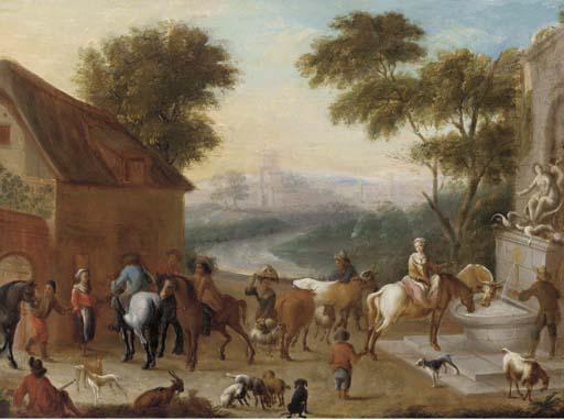 Manner of Carel van Falens