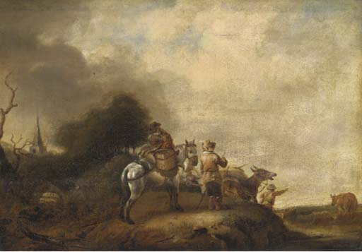 Circle of Philips Wouwerman (H
