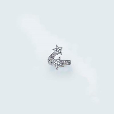 A Chanel 18ct. white gold and