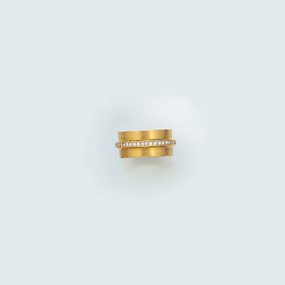 An A & A Turner gold and diamo