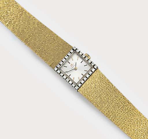 A lady's Omega diamond set bra