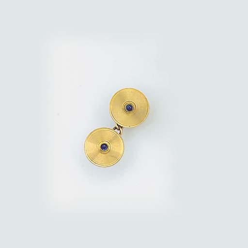 A pair of Cartier cufflinks,