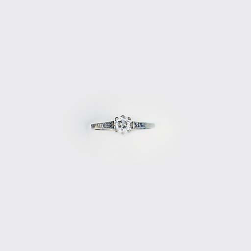 An 18ct. white gold, diamond s
