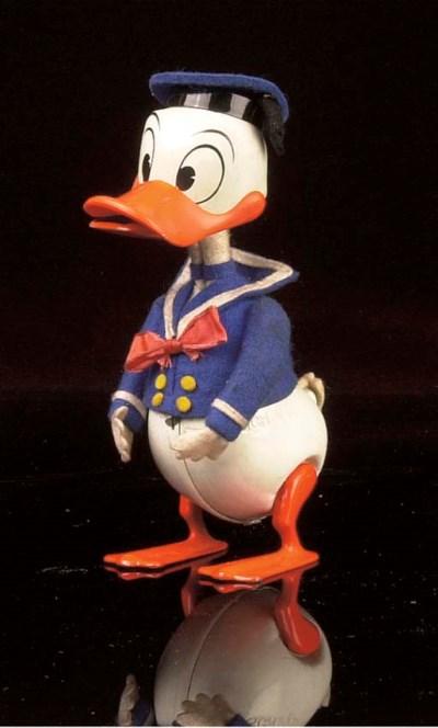 A Schuco clockwork 984 Donald