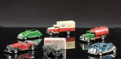 Minic Postwar Clockwork Road V