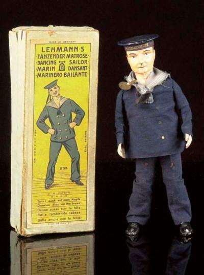A Lehmann British-market clock