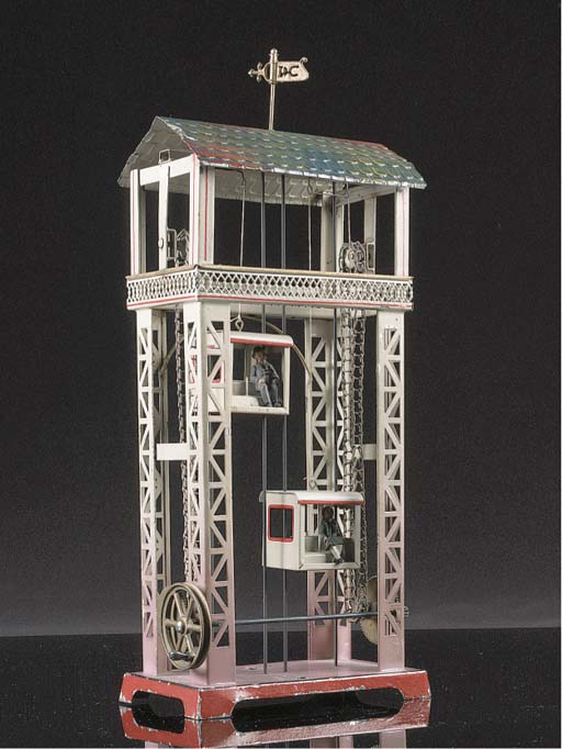 DOLL Two-caged Passenger Lift