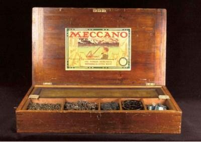 A Meccano Outfit No. 6