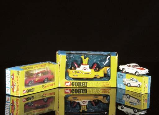 Corgi Film and TV Toys