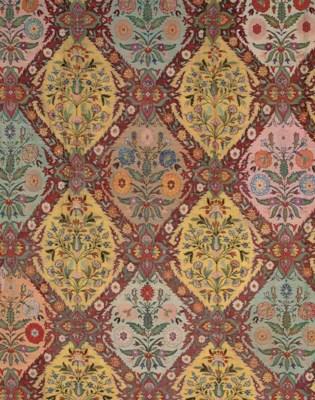 A panel of jamawar shawl cloth