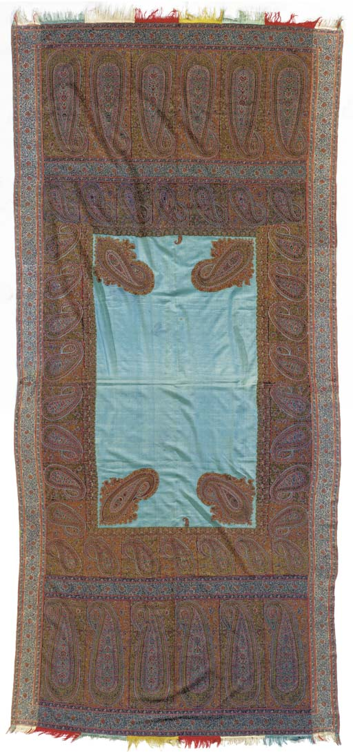 A long jamawar shawl, with a r