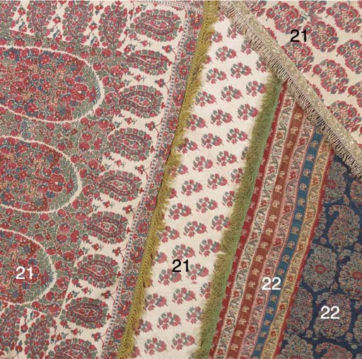 A quilted panel of fine jamawa