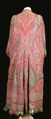 A dolman coat made up from a K