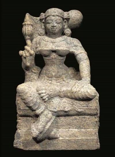A south-Indian granite figure