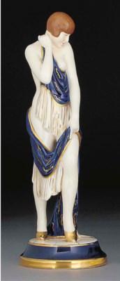 A porcelain figure