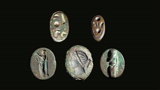 A GROUP OF GRAECO-EGYPTIAN BRO