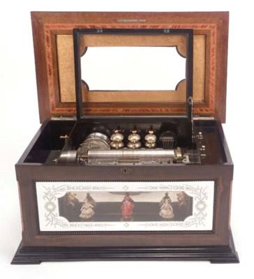 A fine orchestral musical box,