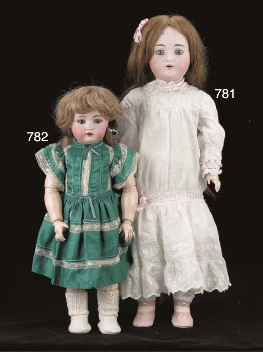 A C.M. Bergmann 1916 child doll
